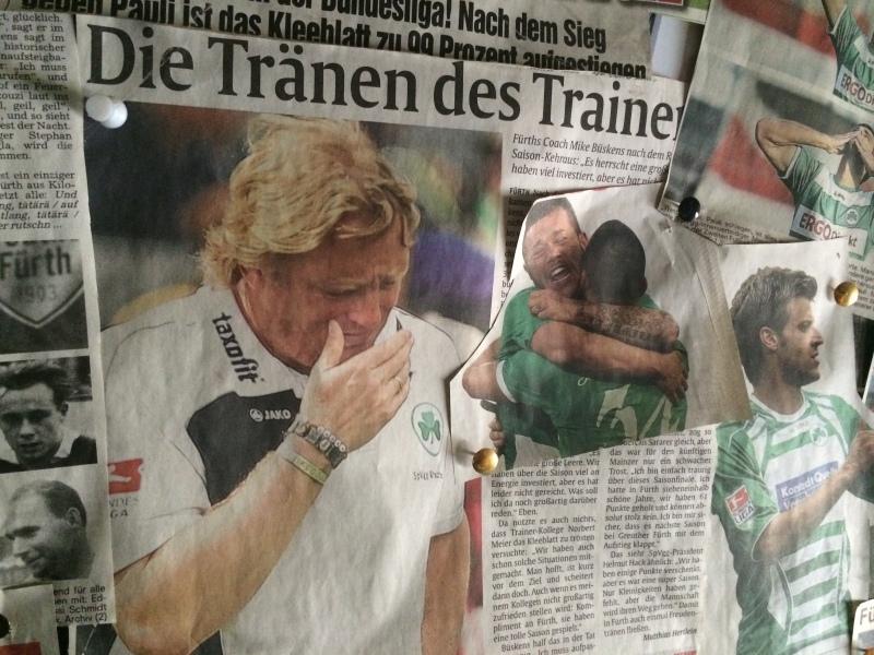 Die Tränen des Trainers